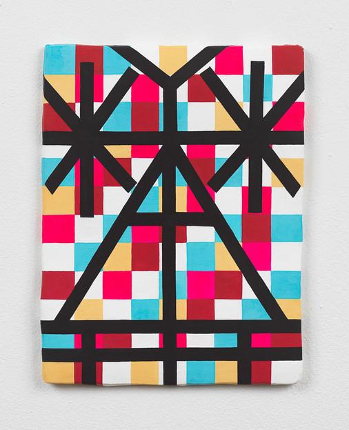 Checkered T