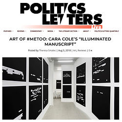 Cara Cole Politics Slash Letters.jpg