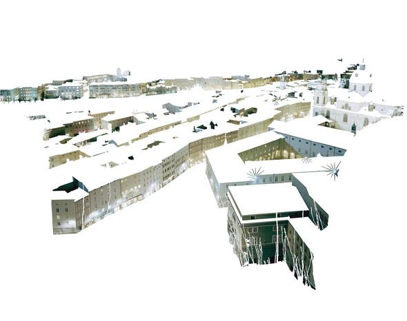 """Marisa Baumgartner - """"Visible City (Facades I)"""""""