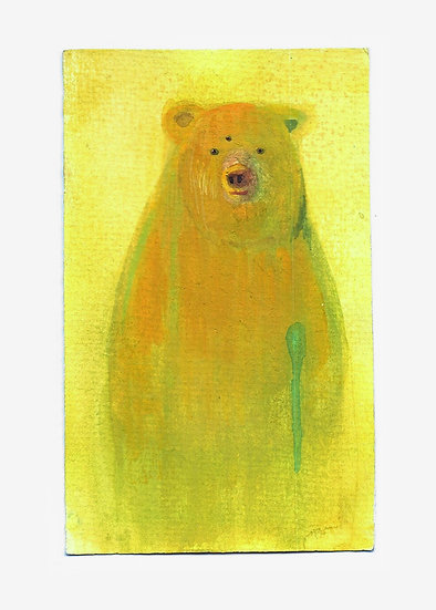 "Fred Valentine - ""Yellow Bear"""