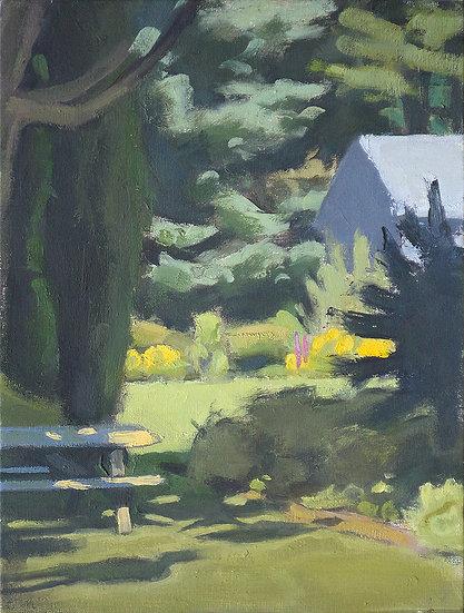"""Paula Heisen - """"Neighbor's Yard"""""""