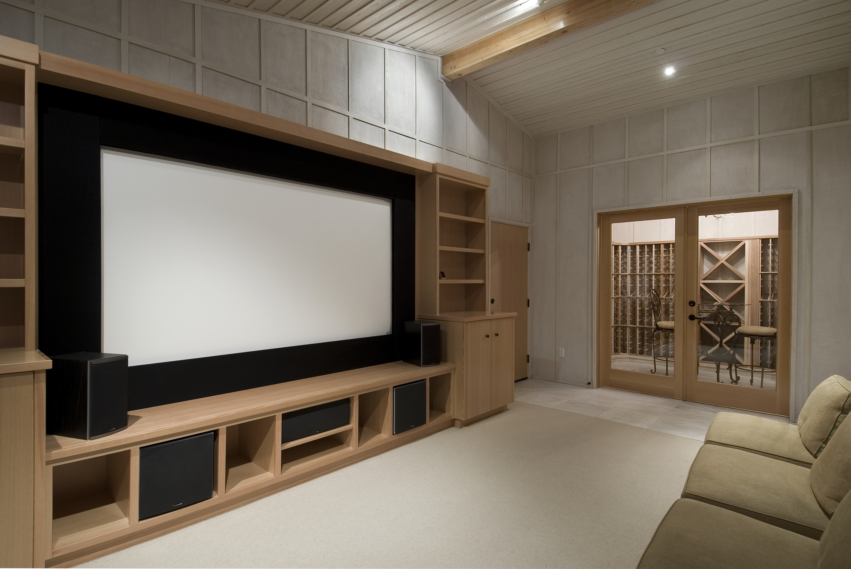 CINEMA EXPERIENCE RIGHT AT HOME