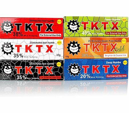 Anestesia TKTX (c/u)