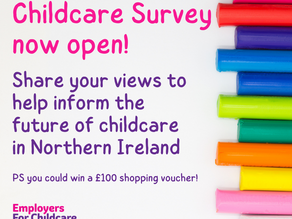 Share your views on childcare & you could win £100 shopping voucher