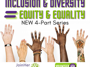 Inclusion & Diversity = Equity & Equality NEW Courses