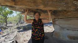 Fun at mushroom rock