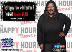If you're riding out tune in _10P! Moving Forward Mondays on _thehappyhourwhb _#siriusxm #siriusfly