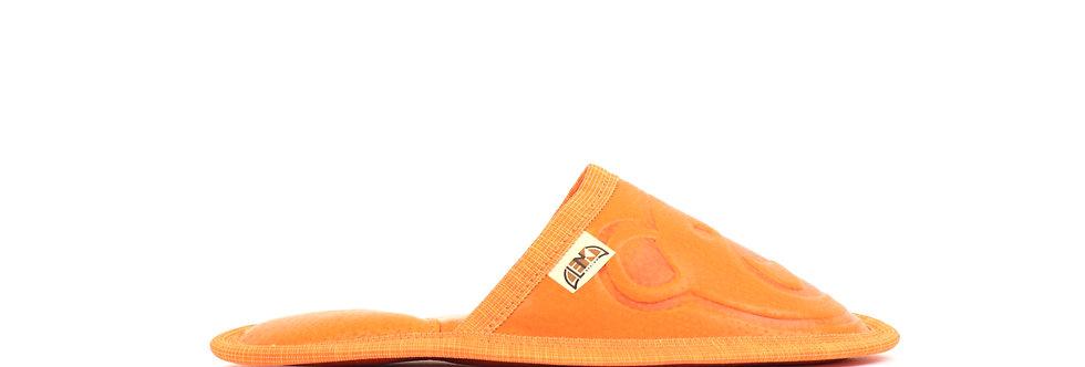 Usnjeni Copati z Medvedkom -Oranžna