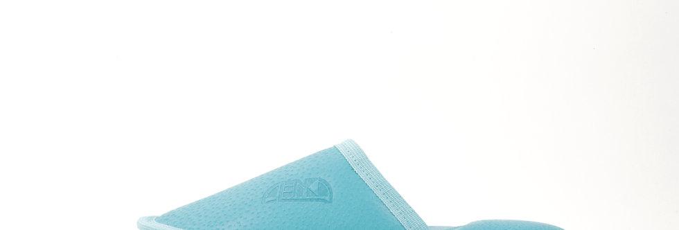 Usnjeni Copati Alenka - Turkizno Modra