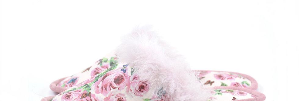 Usnjeni copati Trend - Rose touch