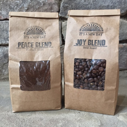 Peace Blend-Medium Roast Coffee WHOLE BEAN