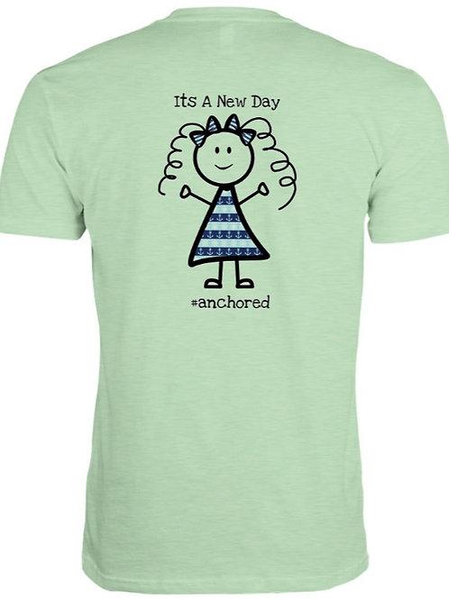 #anchored t shirt