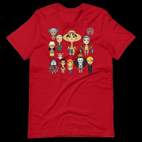Straw Hat Pirates - One Piece Chirebi Unisex T-Shirt