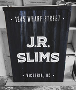 JR Slims Sign