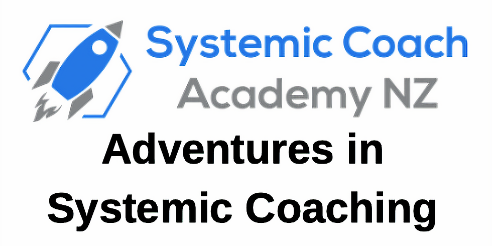 Adventures in Systemic Coaching (Level 2 Course)