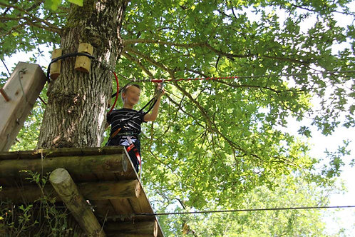 Tree climbing for teens from 1.40 to 15 years old