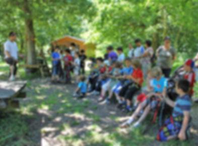 sortie scolaire au parc aventure la gataudiere