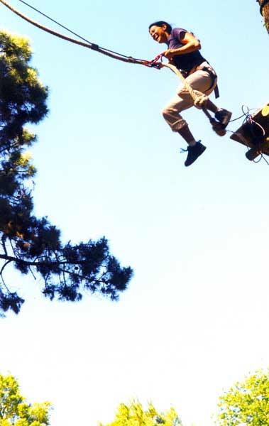 saut de tarzan