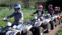 quad au parc aventure la Gataudière