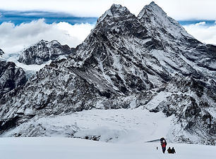 Trekking up to high camp.jpg