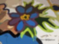 Blue Flower graffiti+16x4.5x 72dpi sig.j