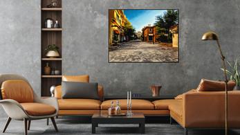 dark gray wall tan sofa set-the Village pix10x 150dpi__.jpg