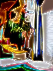 A Room, A Palm, Cool & Calm
