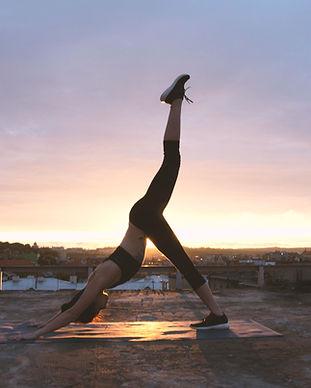 Yoga de la puesta