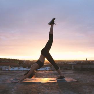 Sunset jóga