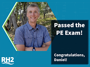 Daniel Dunagan Passed PE Exam