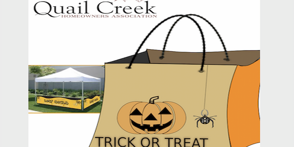 Quail Creek Trick or Treat
