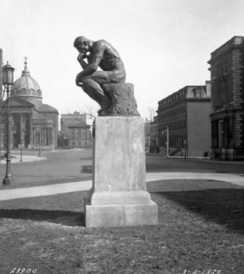 rodin thinker on parkway 1927.png