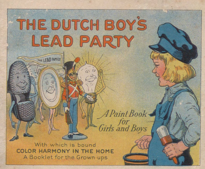 leasd coloring boook 1923 national lead