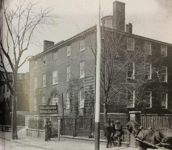 Philadelphia dental college 1717 cherry