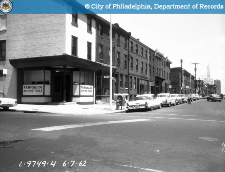 1900 block callowhill looking e 1962.png