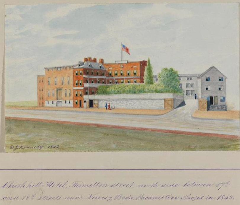 Bush Hill Hotel 1842.JPG