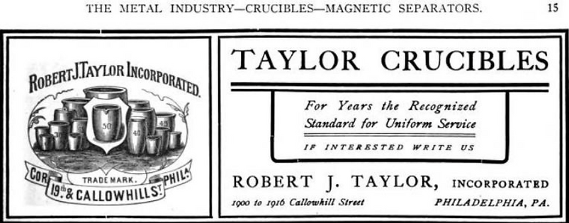 library taylor ad 1908 trade journal.png