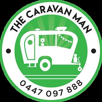 Caravan-Man-green-black-transparent-back