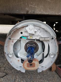 new brake assembly