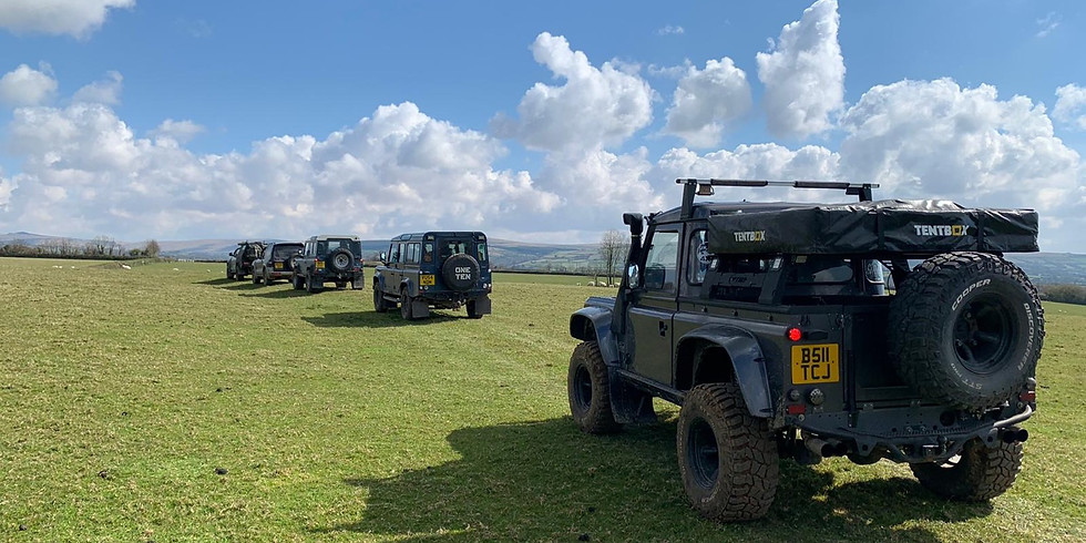 English Border Trip (including access to Adventure Overland Show