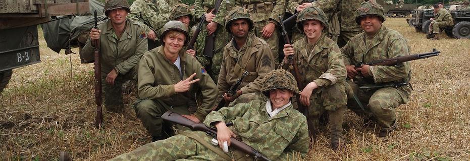 Op oorlogspad - Nicolaas en bataljon in