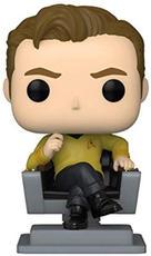 Funko Pop Captain Kirk in Chair