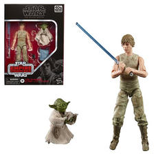 Luke Skywalker and Yoda (Jedi Training) 6-Inch Action Figures