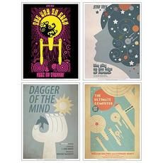 Star Trek The Original Series Fine Art Poster Set 1