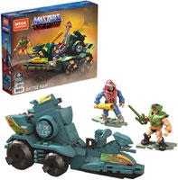 Mega Construx Masters of The Universe Battle Ram and Sky Sled Attack Vehicle Construction Set