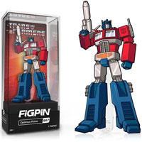 Transformers Optimus Prime FiGPiN Classic Enamel Pin