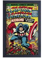 Captain America #193 Comic Cover Framed Art Print