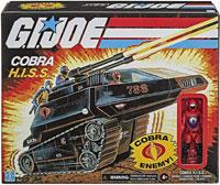 Cobra H.I.S.S. Tank Exclusive Vehicle with Driver G.I. Joe Go Joe