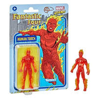Marvel Legends Retro 375 Collection Fantastic 4 Human Torch