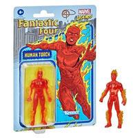 Marvel Legends Retro 375 Collection Fantastic 4 Human Torch